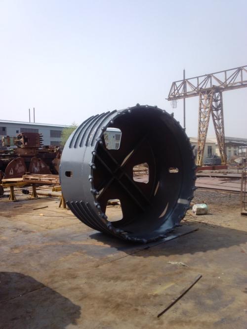 Gầu khoan đá cắt vành D 1500 mm