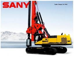 Máy khoan cọc nhồi Sany SR420