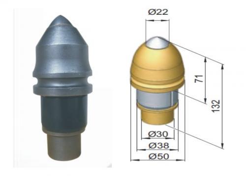 Răng khoan đá Ả Rập B47K22H